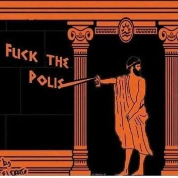 Fuck the polis! (by eldarto)