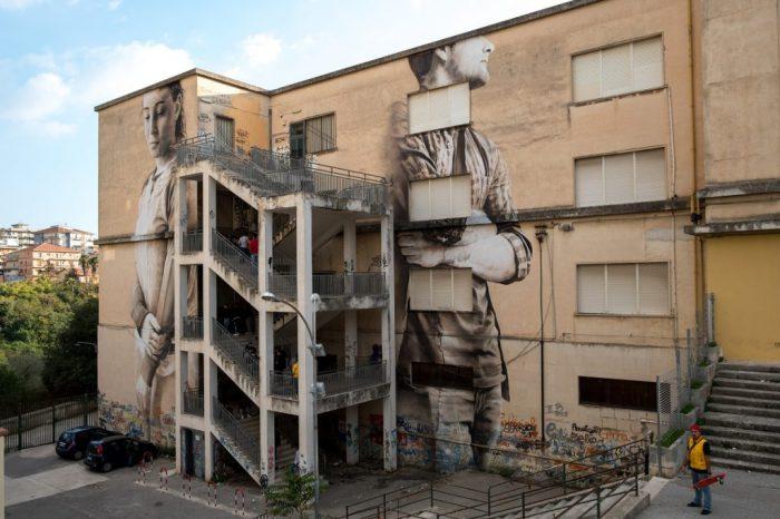Guido van Helten @Ragusa, Italy