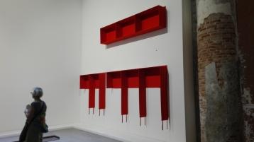Biennale Arte 2017 – Arsenale - Franz Erhard Walther (Germania)