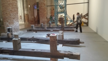 """Biennale Arte 2017 – Arsenale - """"Visible Labor"""" di Gabriel Orozco (Messico)"""