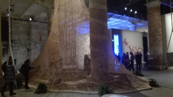 "Biennale Arte 2017 – Arsenale - ""Um Sagrado Lugar (A sacred place)"" di Ernesto Neto (Brasile)"