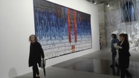 """Biennale Arte 2017 – Arsenale - """"Bresil (Guarani)"""" di Abdoulye Konate (Mali)"""