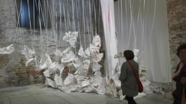 "Venezia - Biennale Arte 2017 - ""Presumption Prevails"" di Karla Black (UK)"