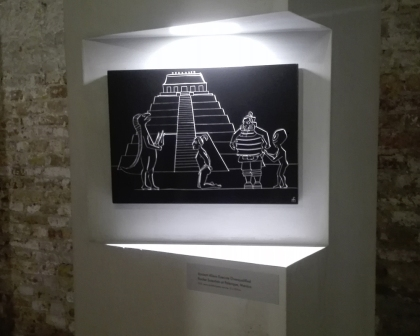 "Biennale Arte 2017 - Arsenale - Padiglione Lettonia - ""Guided Shopping Tour for Extraterrestrials at Champs-Élysées, Paris"" di Miķelis Fišers (Lettonia)"