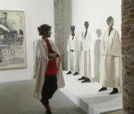 "Biennale Arte 2017 - Arsenale - ""mannequin #3 #4 #5"" di Huguette Caland (Libano)"