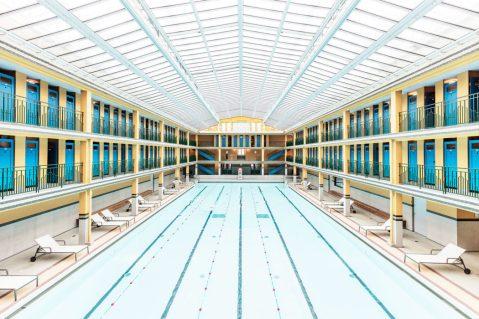 Ludwig Favre - Paris' swimming pools