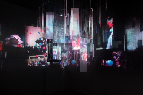 Matie¦Çre Noire_Act I_Projection_D_E¦üchos_collaboration with Carmen Main -® Blind Eye Factory_2