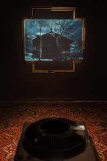 Matie¦Çre Noire_Act I_Projection_H_Carrousel_collaboration with Robberto Atzori and Carmen Main -® Blind Eye Factory