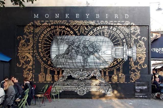 MonkeyBird @Paris, France