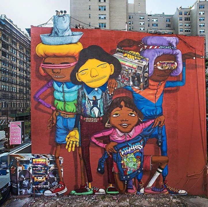 OS Gemeos @New York City, USA