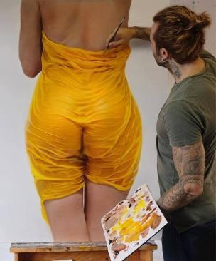 Pittura iperrealista di Mike Dargas
