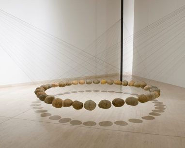 Suspended Stone Circle by Ken Unsworth