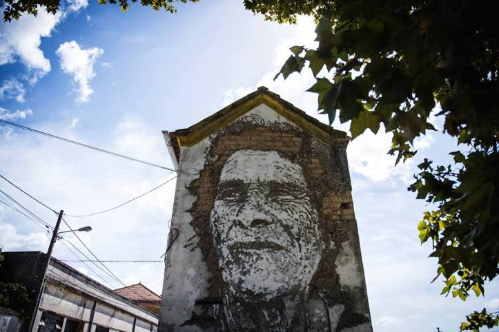 Vhils @Estarreja, Portugal