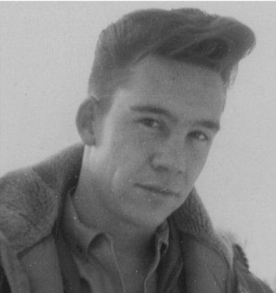 Bob Ross nelle forze armate intorno al 1960