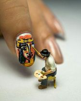 Nails painter by Kay Burn Lim