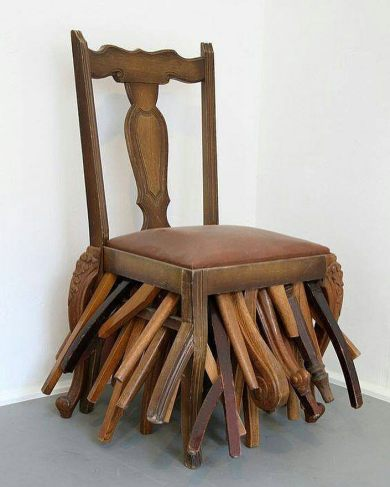 Chair by Maarten Vanden Eynde