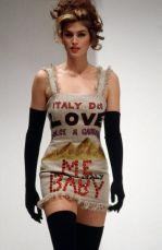 Cindy Crawford per Dolce & Gabbana, 1992