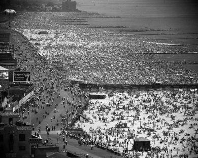 Coney Island, NYC, 1949