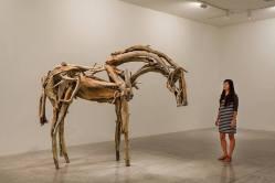 Deborah Butterfield, Palouse, 2012, bronze, 95 x 116 ½ x 36 in