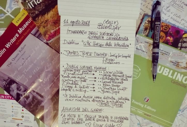 Dublin day-by-day - Itinerario degli scrittori (Day 1)