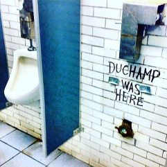 Duchamp was here...