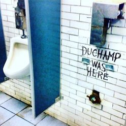 Duchamp was here...
