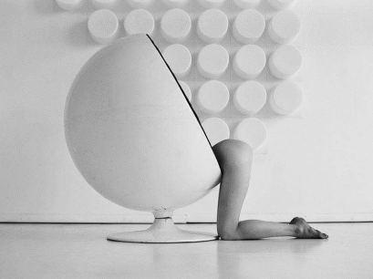 Eero Aarnio's Ball Chair designed in 1963