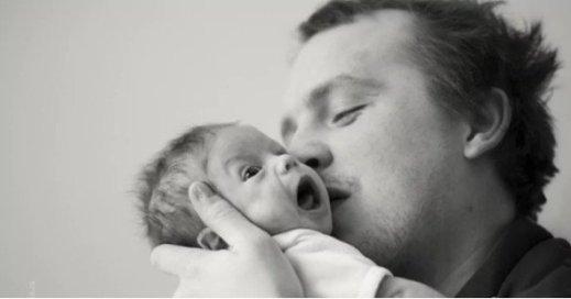 Heath Ledger con sua figlia