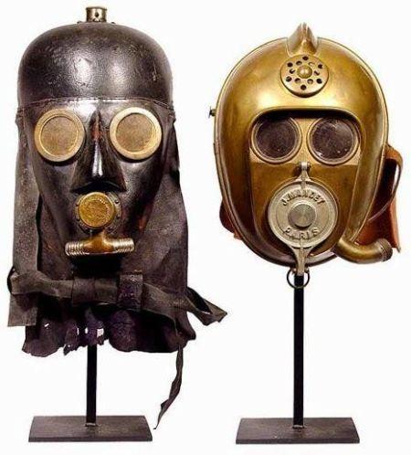I vigili del fuoco del XIX secolo sembravano Darth Vader e C3PO