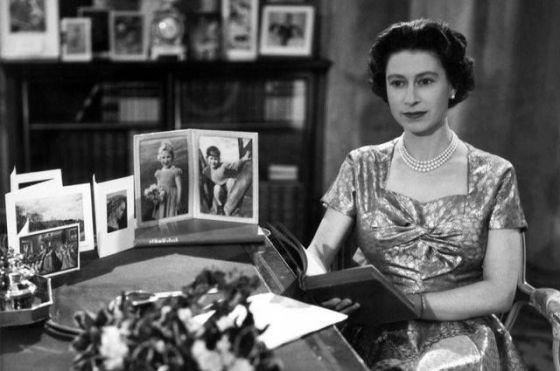 Il primo discorso natalizio televisivo della regina Elisabetta II, 1957