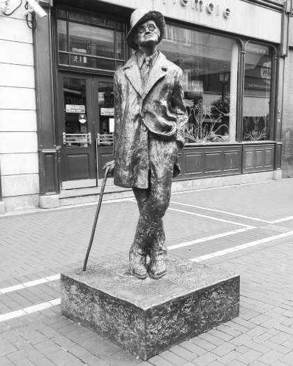 Dublino - Statua James Joyce