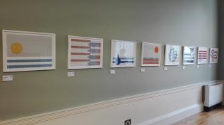 "Dublino - James Joyce Centre - ""Ulysses, a Visual Scema"" by James MacDonnel"