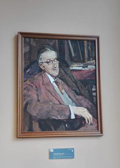 Dublino - James Joyce Centre - Ritratto di Jacques Emil Blanche