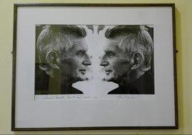 Dublino - Dublin Writers Museum - Samuel Beckett Fotografia di John Minihan, agosto 1984