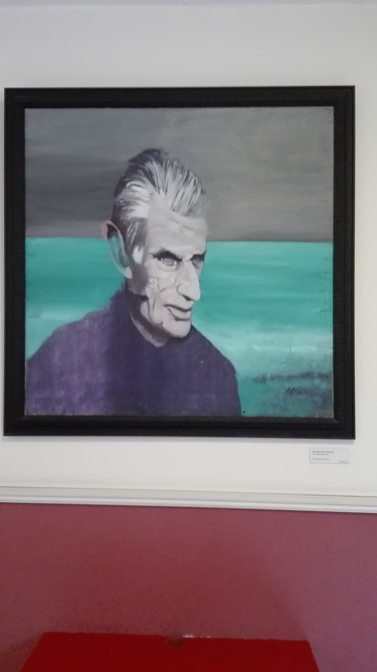"Dublino - Dublin Writers Museum - ""Beckett by the sea"" by André Monréal"