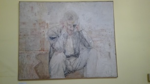 Dublino - Dublin Writers Museum - Ritratto di james Joyce di Basil Blackshaw