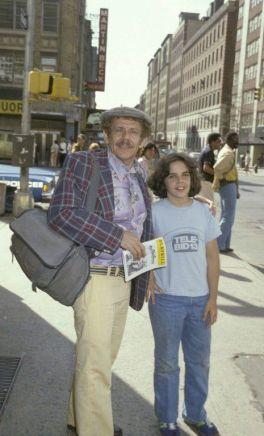 Jerry Stiller porta suo figlio Ben a un'opera teatrale, nel 1978