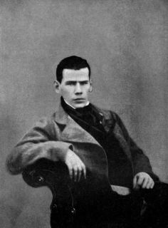 Leo Tolstoy a 20 anni, 1848