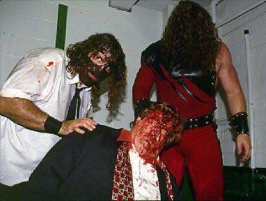 Mankind, Kane e Paul Bearer (15 giugno 1998)
