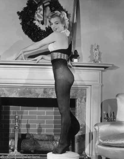 Marilyn Monroe in versione natalizia, 1951