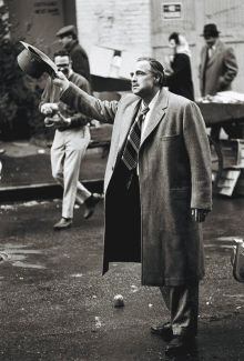 Marlon Brando sul set di The Godfather, 1971