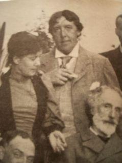 Oscar Wilde ad una festa nel 1892