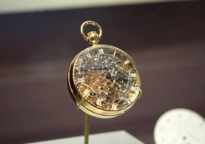 Progettato da Breguet e destinato a Maria Antonietta. In mostra al L.A. Mayer Institute for Islamic Art, Jerusalem