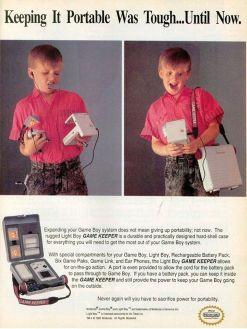 Pubblicità del Game Keeper, 1991