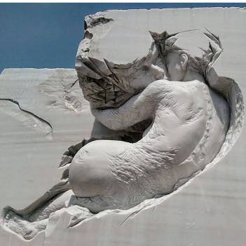Scultura di Pascale Archambault