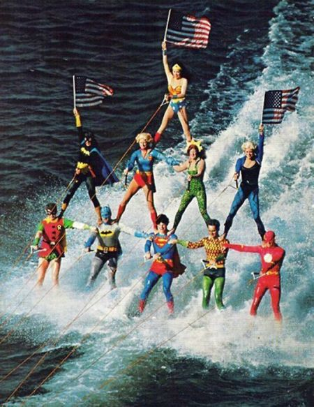 Sea World Superheroes, eseguito dal 1976 al 1979