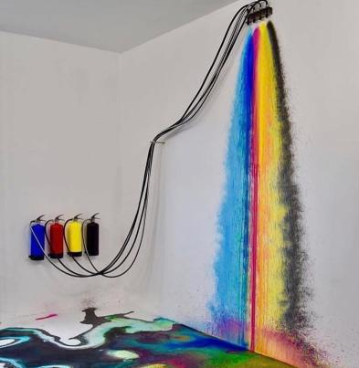 (Spray) rainbow by Rutger de Vries