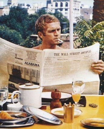 Steve McQueen in The Thomas Crown Affair (1968)