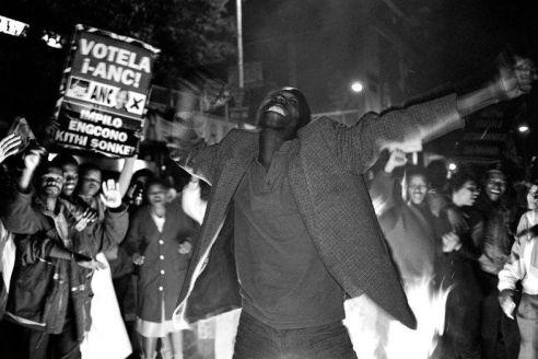 Sudafricani celebrano la fine dell'apartheid, il 30 giugno 1991