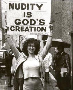 Nudity is God's creation!